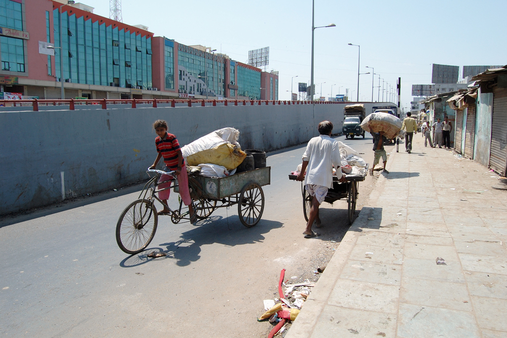Ahmedabad, India 2009, Photograph by Justin Paul Ware.