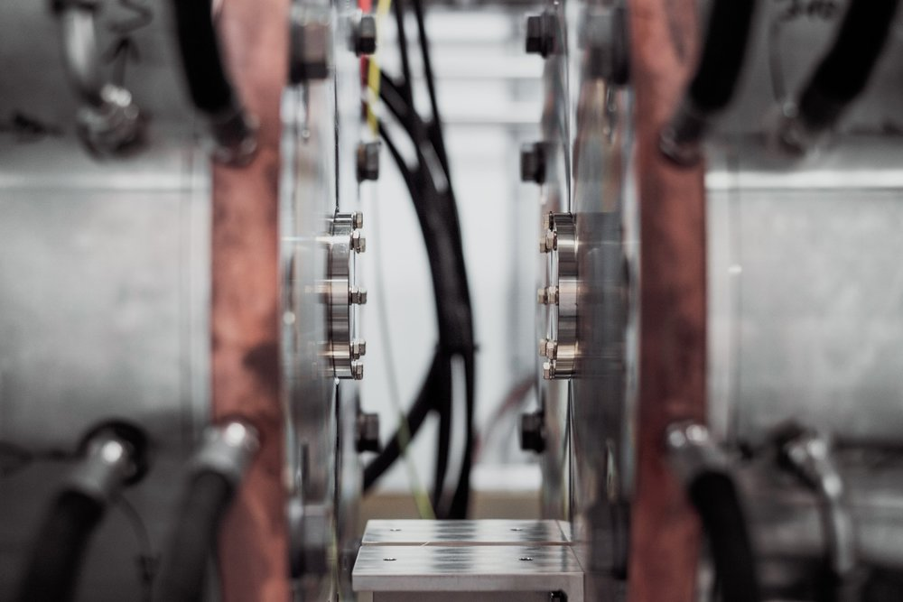 The future of manufacturing is automated. Photograph by Samuel Zeller.