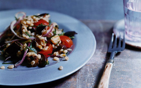 Barley and Mushroom Pilaf Recipe