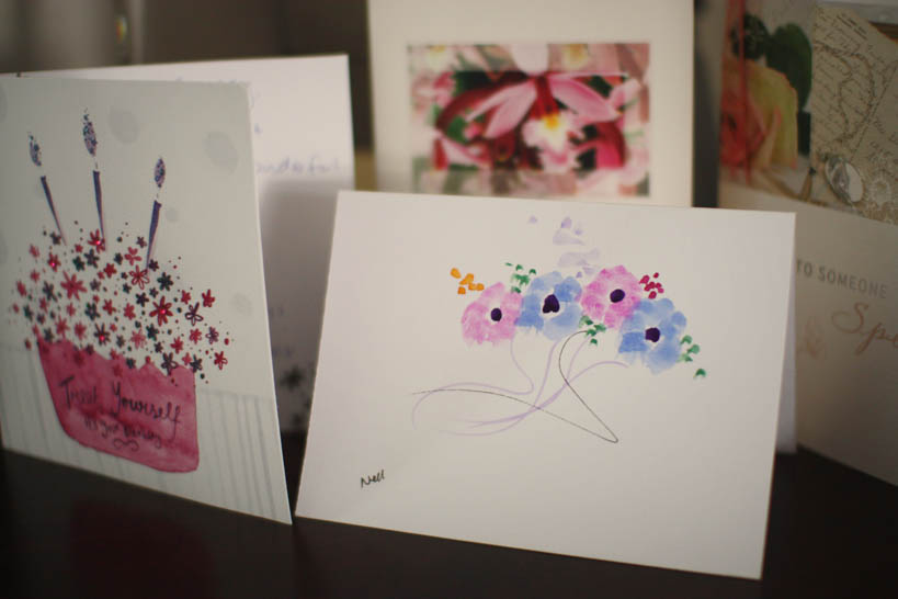 Birthday Cards || thinkbiglivesimply.com