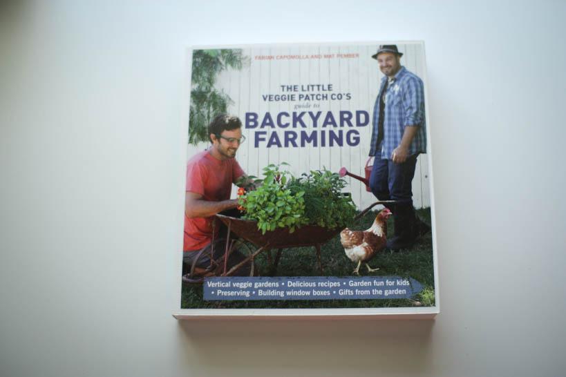 Backyard Farming || thinkbiglivesimply.com