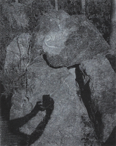 Shadow, Monoprint