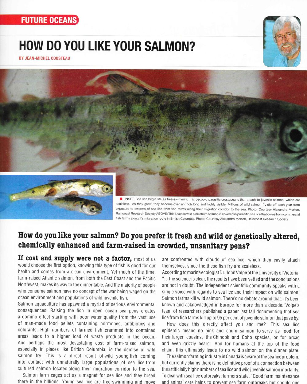 Pg. 10  Diver Magazine , September 2007