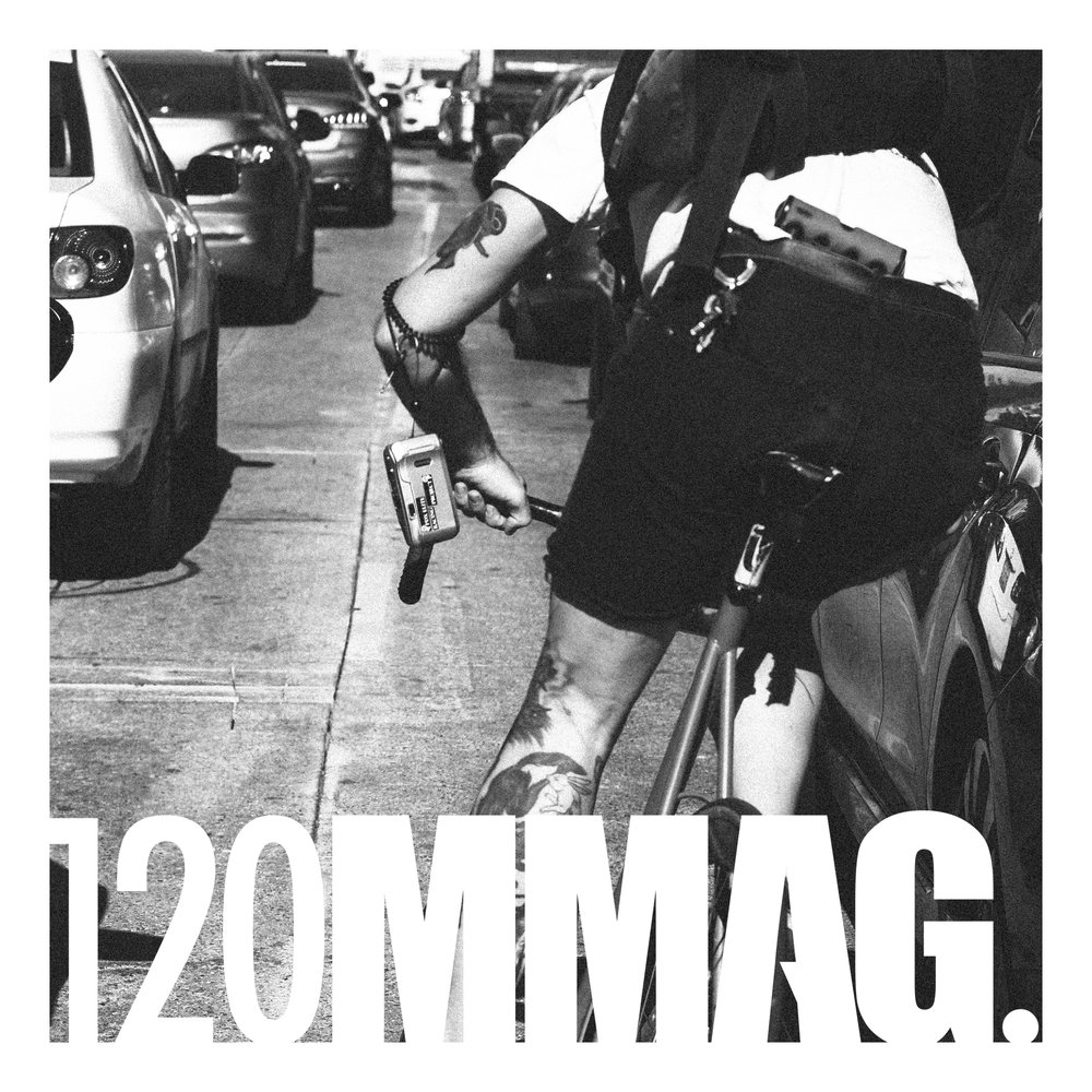 120MM Magazine - COMING SOON.120MMagA boutique visual magazine featuring cycling & street photography from multiple contributors curated by FWDSET.The name 120mm hailing from the core of the of the magazine's content: cycling & photography. In cycling, 120mm refers to the spacing of the rear hub of a track bike, near-synonymous with urban cycling. In photography, 120mm is the less common, often considered