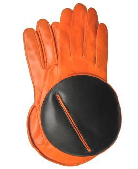 Thomasine-Gloves-MADRID calfskin ORANGE-BLACK-The-Partners-In-Crime-by-Sarvenaz-Dezvareh.jpg