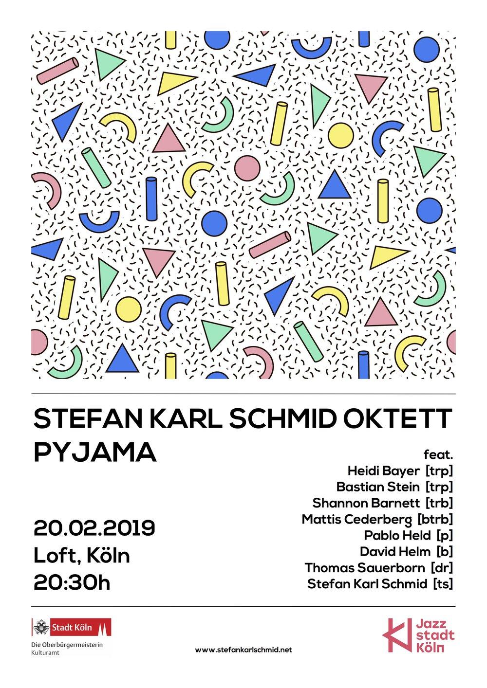 Pyjama Oktett Plakat, Loft.jpg