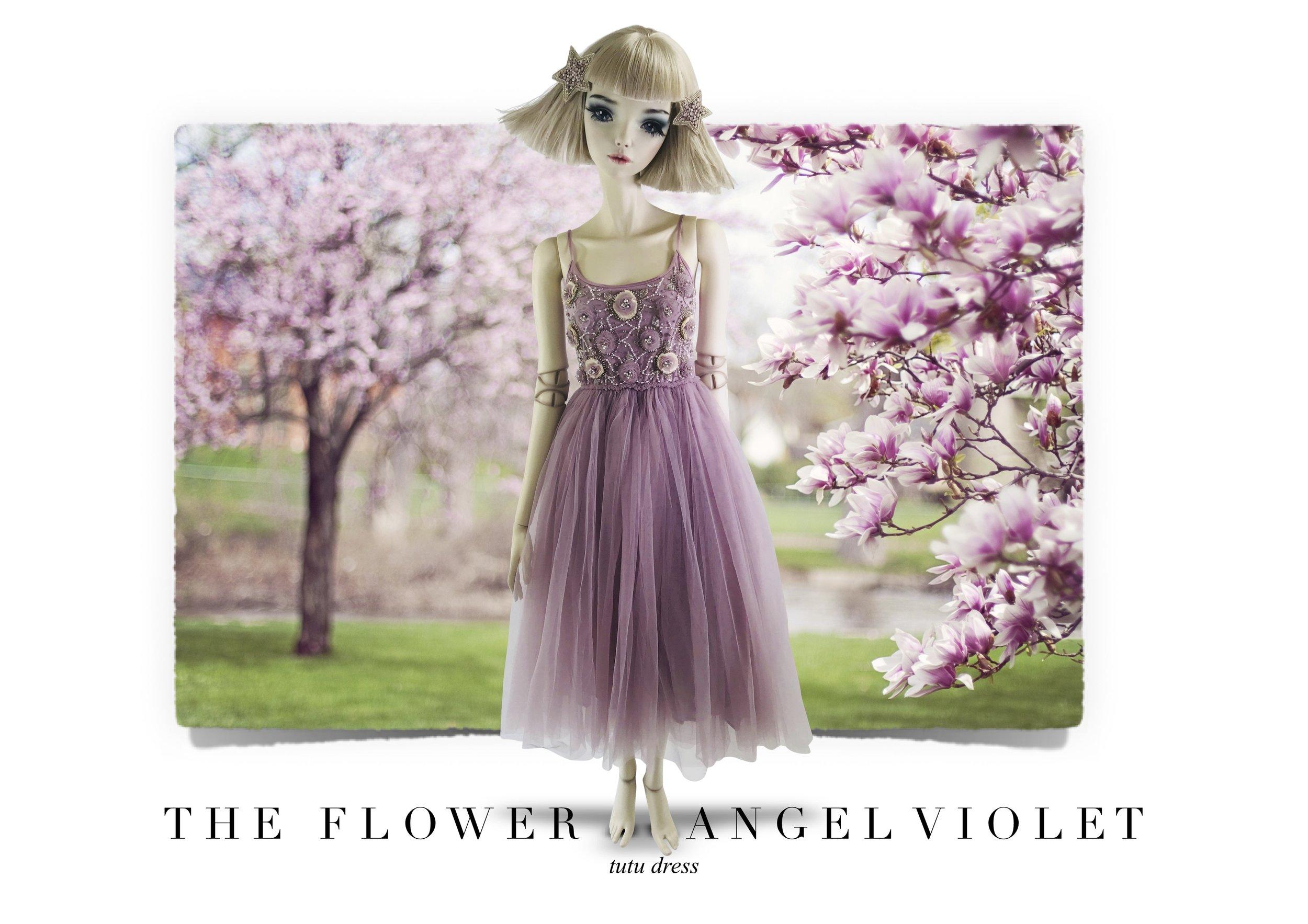FLOWER ANGEL VIOLET 2