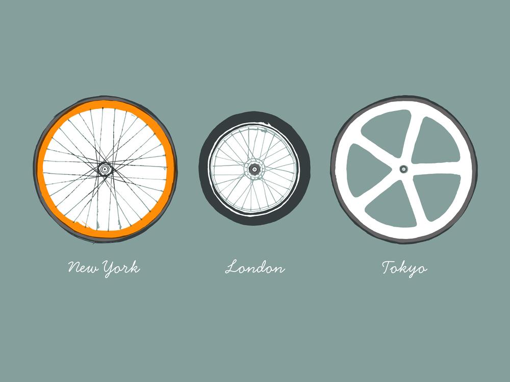World Bike Clocks Free Desktop Wallpaper Carys Ink Freelance