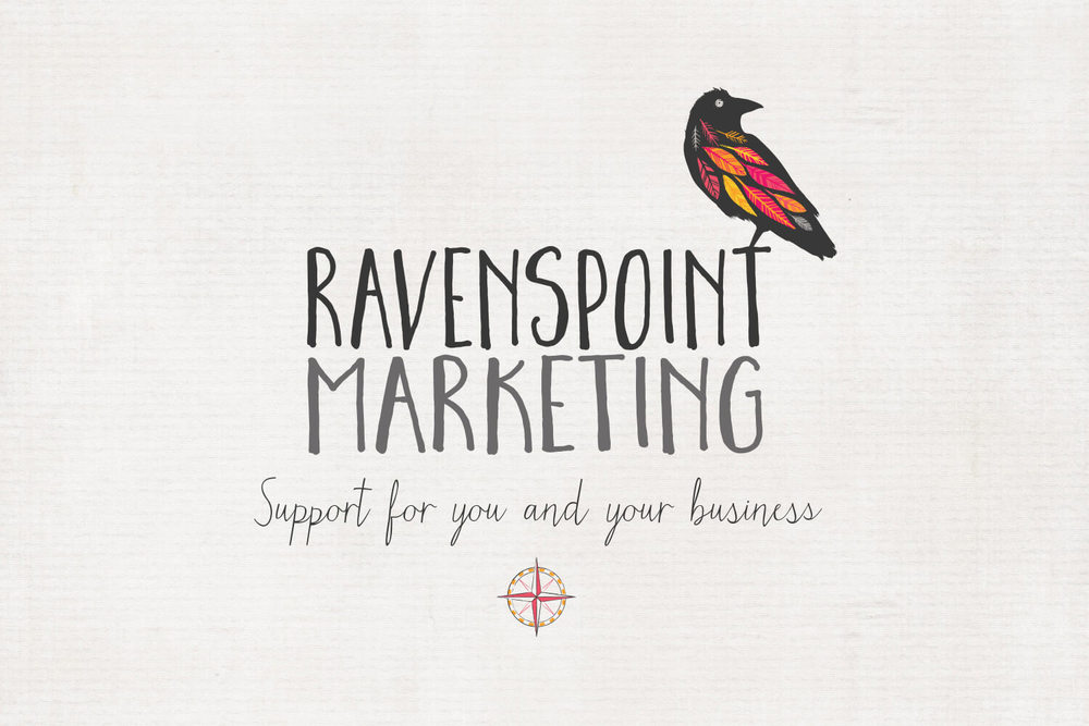 Ravenspoint Marketing Logo & Strapline