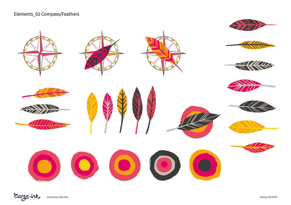 Ravenspoint Feather Brand Elements