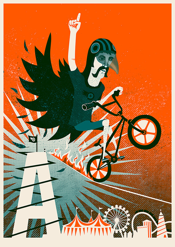 Artcrank: As the Crow Rides