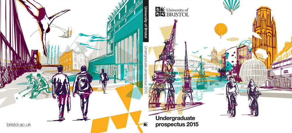 University of Bristol - Prospectus 2015 Cover Illustration