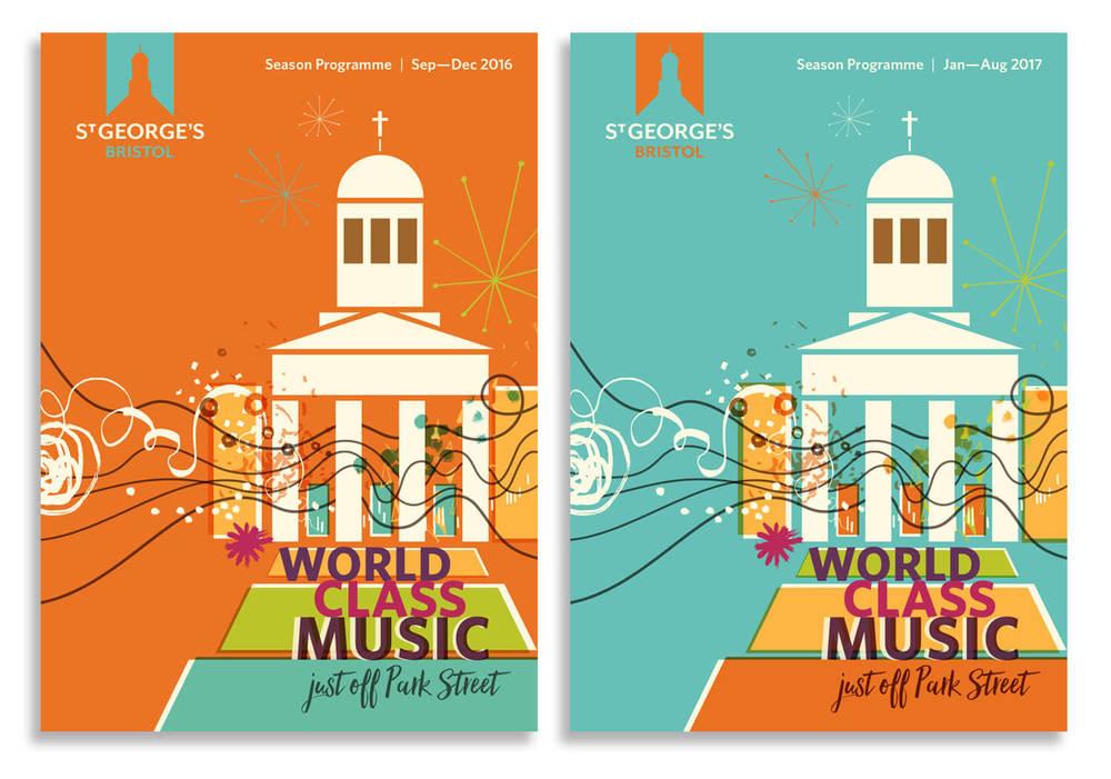 St George's Bristol - 2 x Season Brochures
