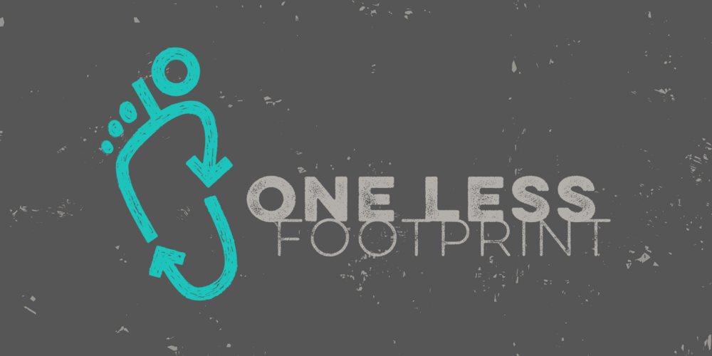 ONE LESS FOOTPRINT  |  Brand Identity for a new enterprise hoping to offer consumers a more sustainable fashion choice