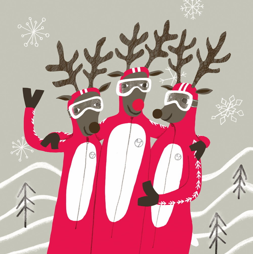 Reindeer Race Team