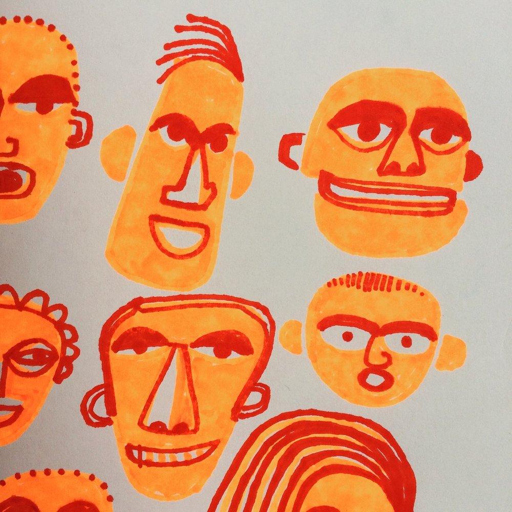 Sharpie Faces 01