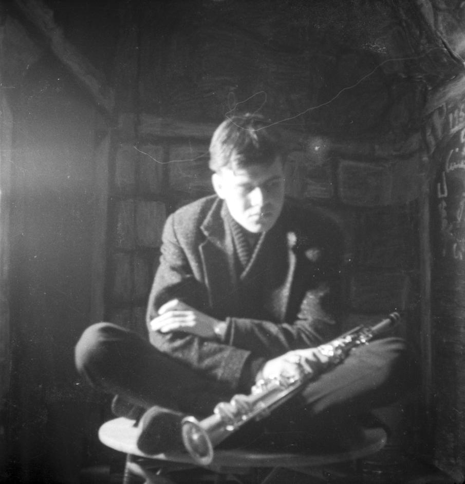 HRG mit Klarinette um 1960