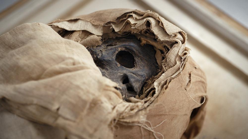 Mumie im Rätischen Museum Chur