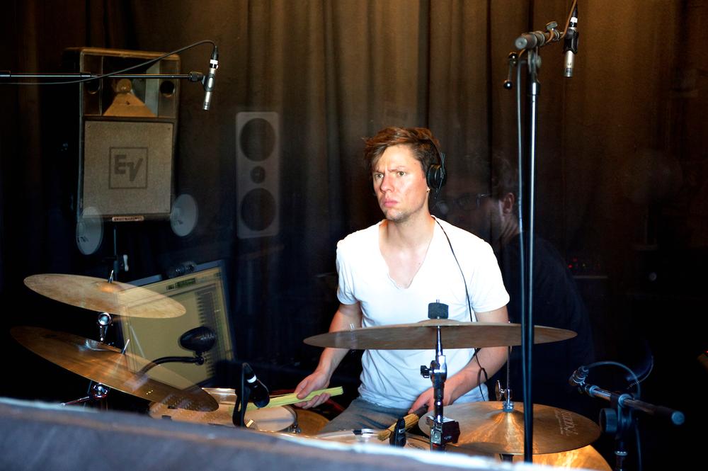 Drummer Rico Baumann