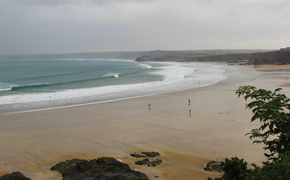 Towan Beach was looking fairly clean compared to Fistral, it was definitely the way to score a good session !!