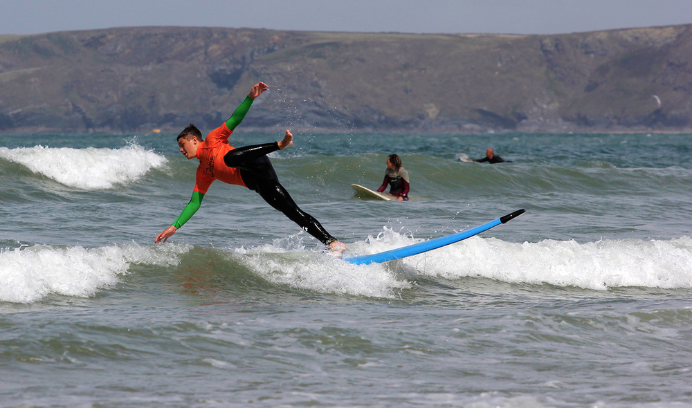 Learn to surf newquay