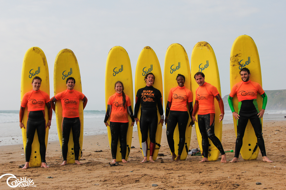 Surf lessons accommodation newquay cornwall