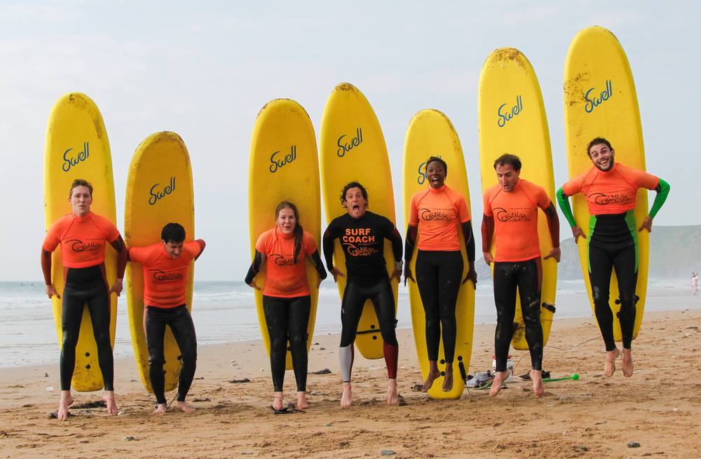 Surf lessons newquay cornwall 20