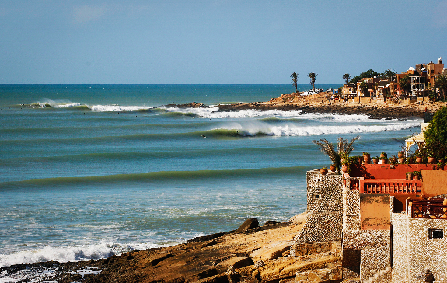 Famous Point Break: Anchor Point,Morocco