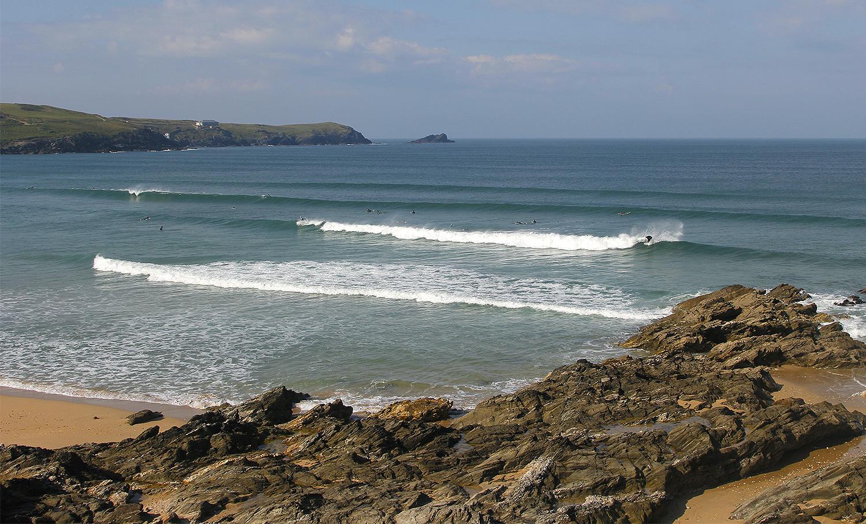 Famous Beach Break: Fistral Beach, Newquay, Cornwall