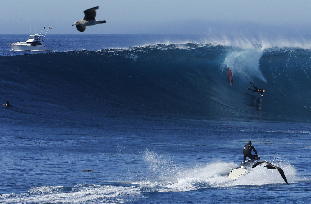 surf theory, wipeout