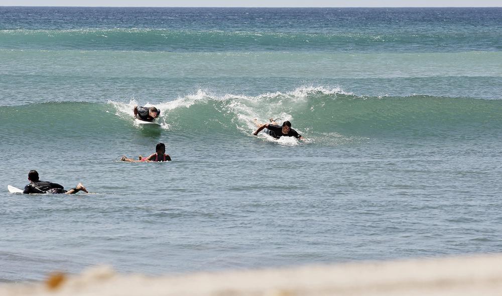 Surfer priority