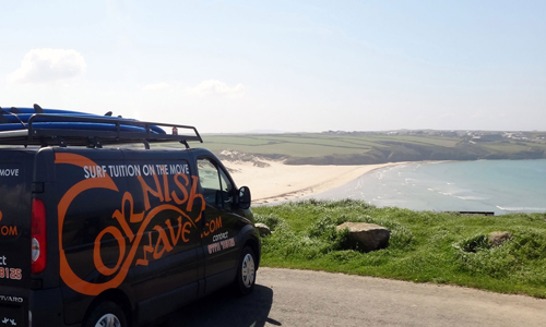 Mobile Surfing School, Learn to Surf in Cornwall