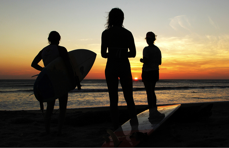 Sunset surf lesson prices
