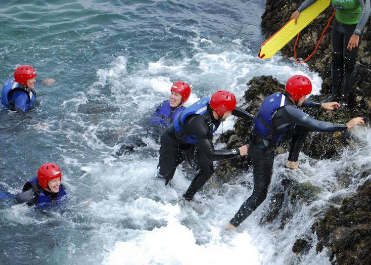 Coasteering is Great Exercise, and Great Fun!