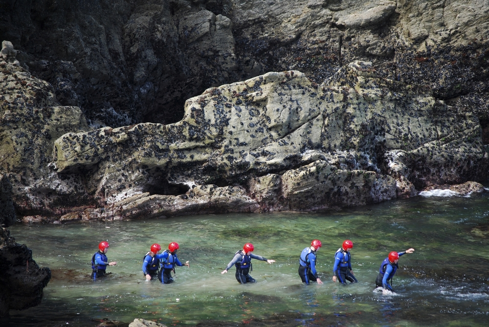 Coasteering - An adventure into Cornish history
