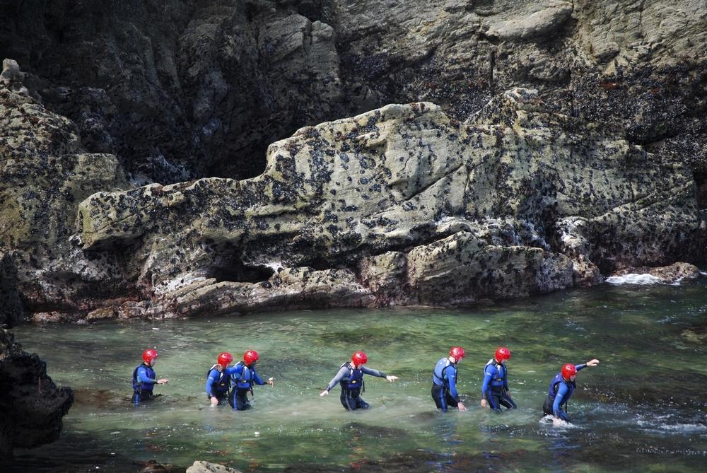 Coasteering - An adventure into Cornish history