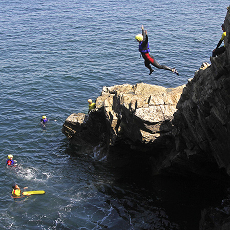 Stag Do Coasteering - Deep Water Jumps
