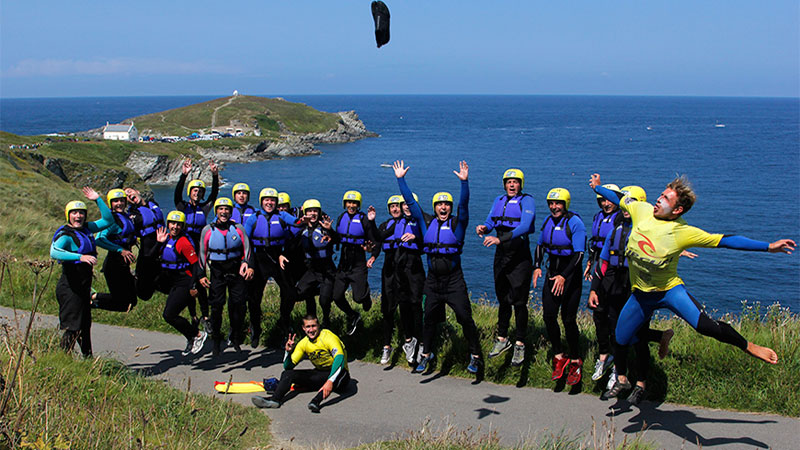 Coasteering is suitable for all ages and abilities.