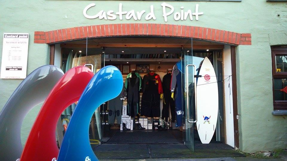 Custard Point Surf Shop Newquay