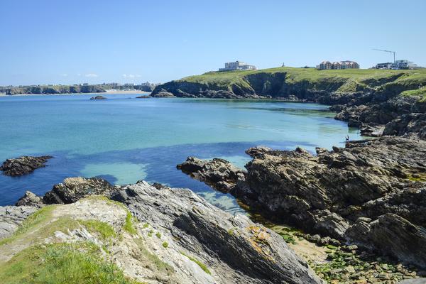 newquay coasteering location - the gazzle