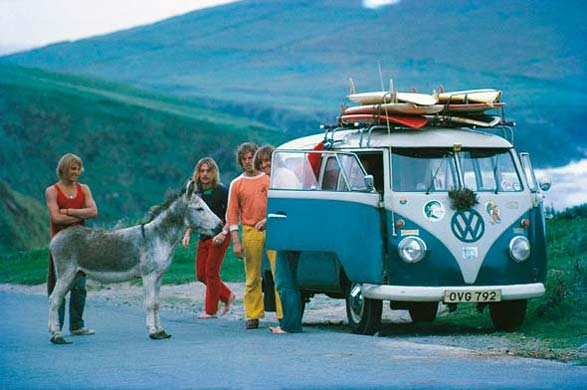 70's Surfer's On Surfari