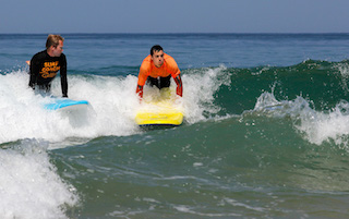 One to One surf lessons