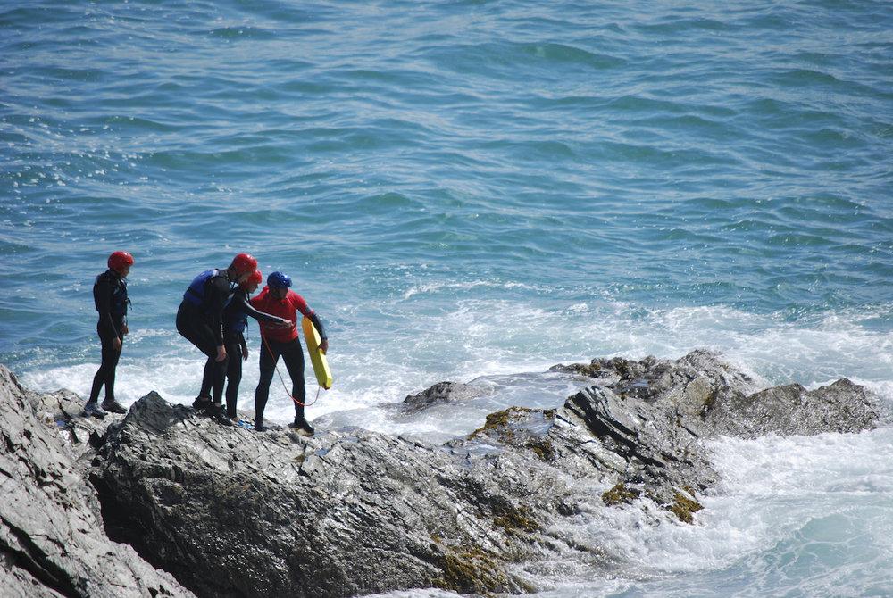 private coasteering