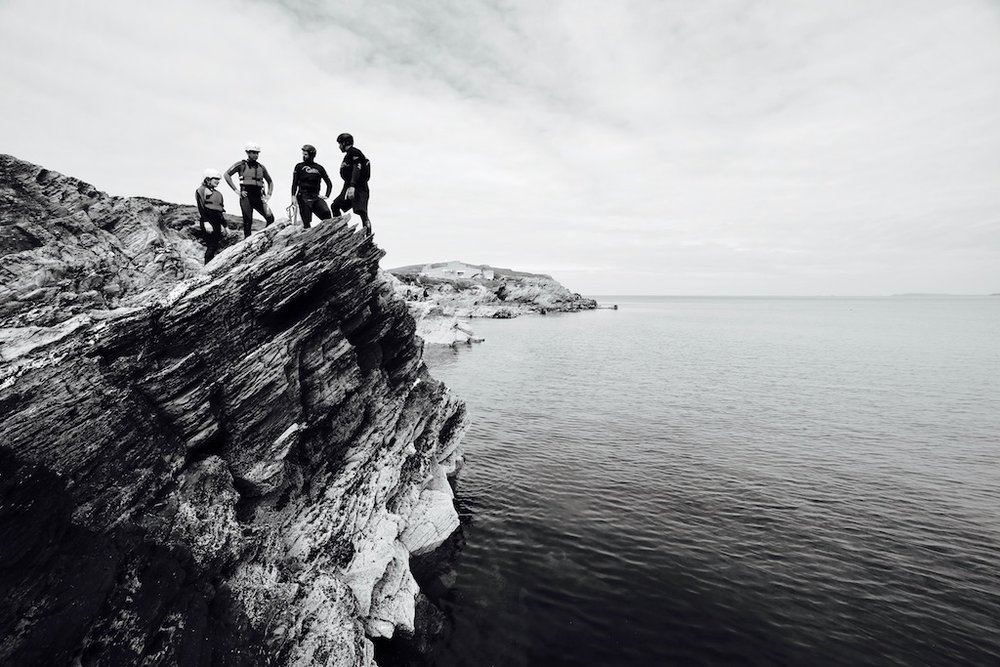 Push yourself to the limits with our Coasteering sessions in Newquay