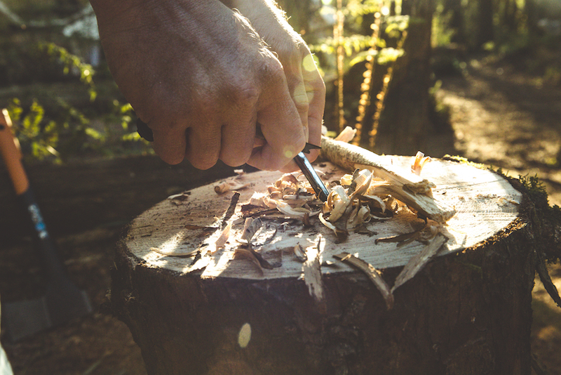 outdoor bushcraft activities in newquay