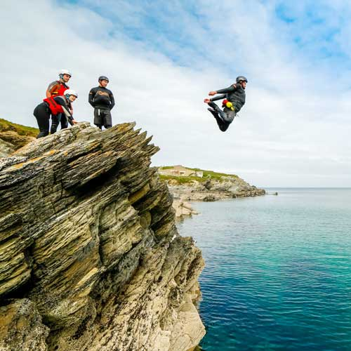 Coasteering + Wild Camping - from £80 per person