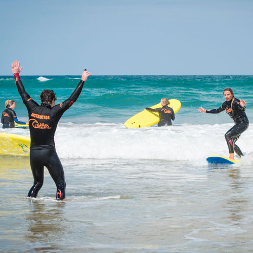 Surfing + Wild Camping - from £75 per person