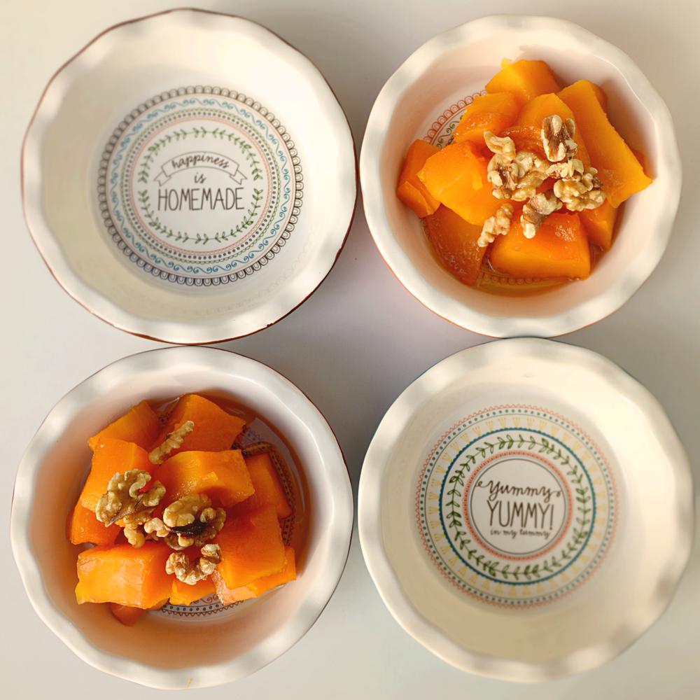 Roasted pumpkin in maple syrup  Vegan /gluten free