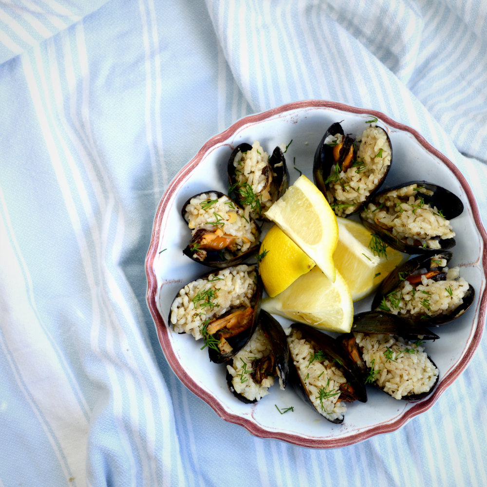 Stuffed Mussles