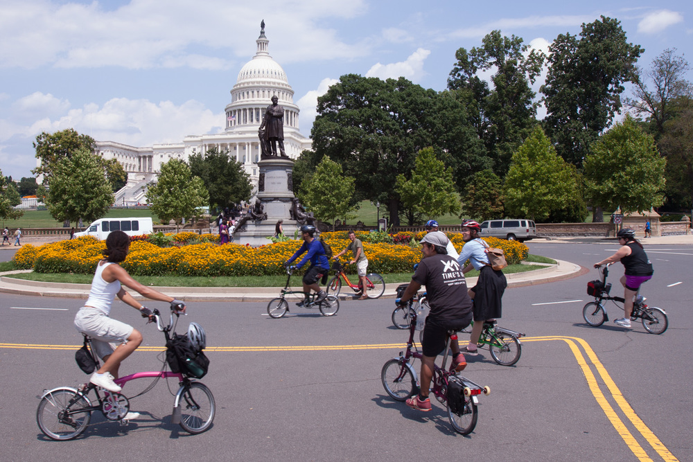 Brompton Urban Challenge 2014 in Washington D.C.